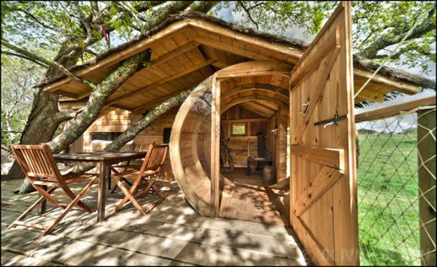 Cabane dans les arbres en Bretagne, où en louer une ?