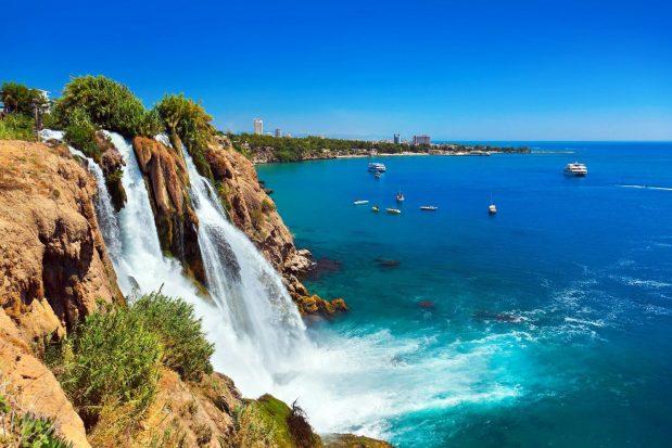 Découverte des chutes de Düden à Antalya en Turquie