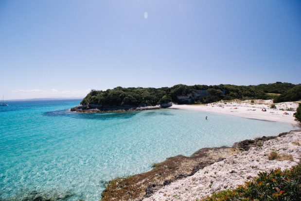 Bonifacio: la plage de Piantarella, une destination exceptionnelle!