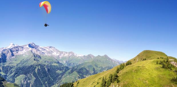 Visitez Chamonix et le Mont-Blanc en parapente