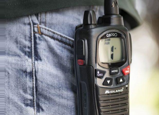 Talkie walkie : Et si vous achetiez le midland G9 ?