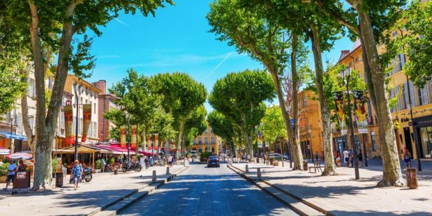 Et si vous passiez vos prochaines vacances à Aix en Provence ?